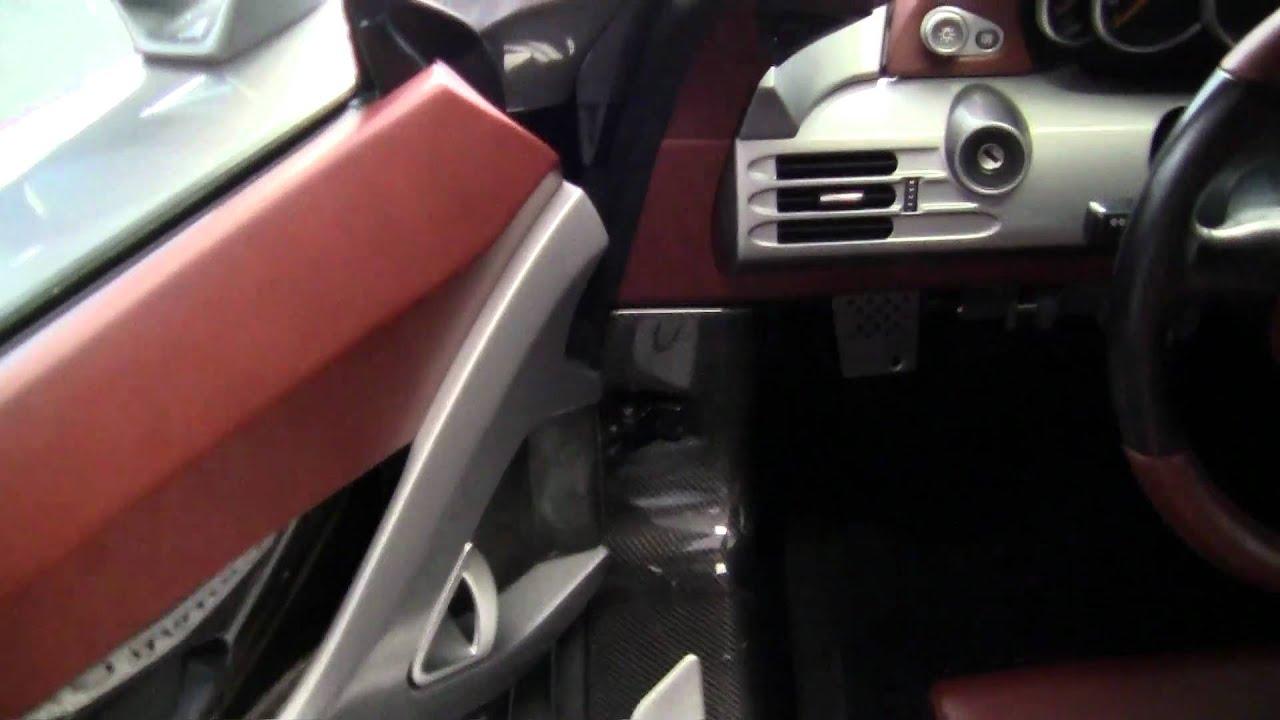 Porsche carrera gt interior interieur inside youtube for Inside interieur