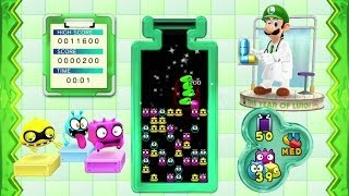 Dr. Luigi - Operation L Level 50-55 Playthrough (Classic/Med Speed) [Wii U]