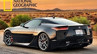 Lexus LFA / Megafactories (National Geographic HD)