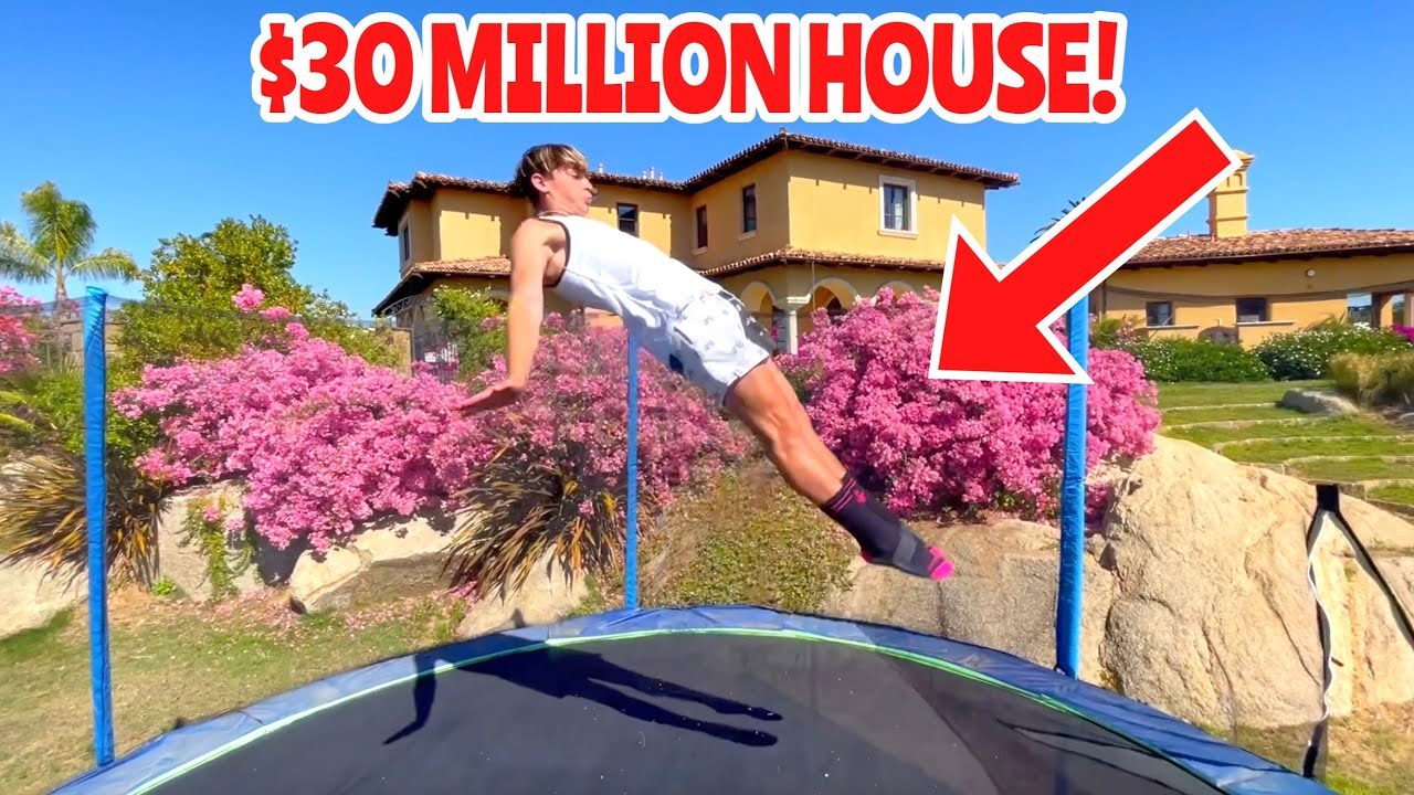 FLIPPING AT THE RICHEST KID IN AMERICAS HOUSE! *Soloflow*