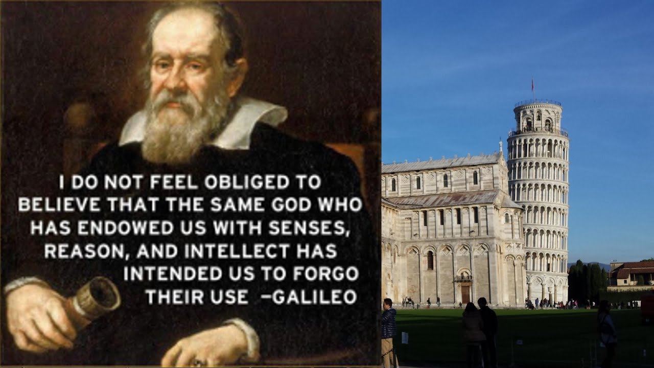 the life and times of galileo galilee Embark on a thrilling tour of pisa city inspired by the 'father of modern physics and astronomy', galileo galilei.