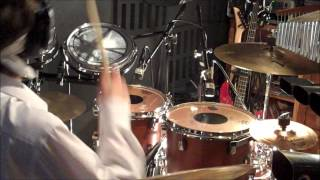 "Rush ""Beneath Between and Behind Drum Cover"""