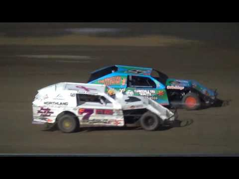 Albert Auto Night Modified Heat 2 Independence Motor Speedway 9/17/16