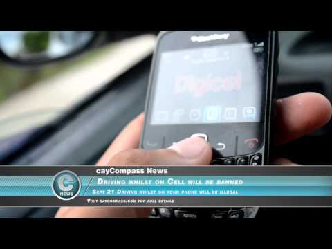 Cayman Cell Phone Driving Ban