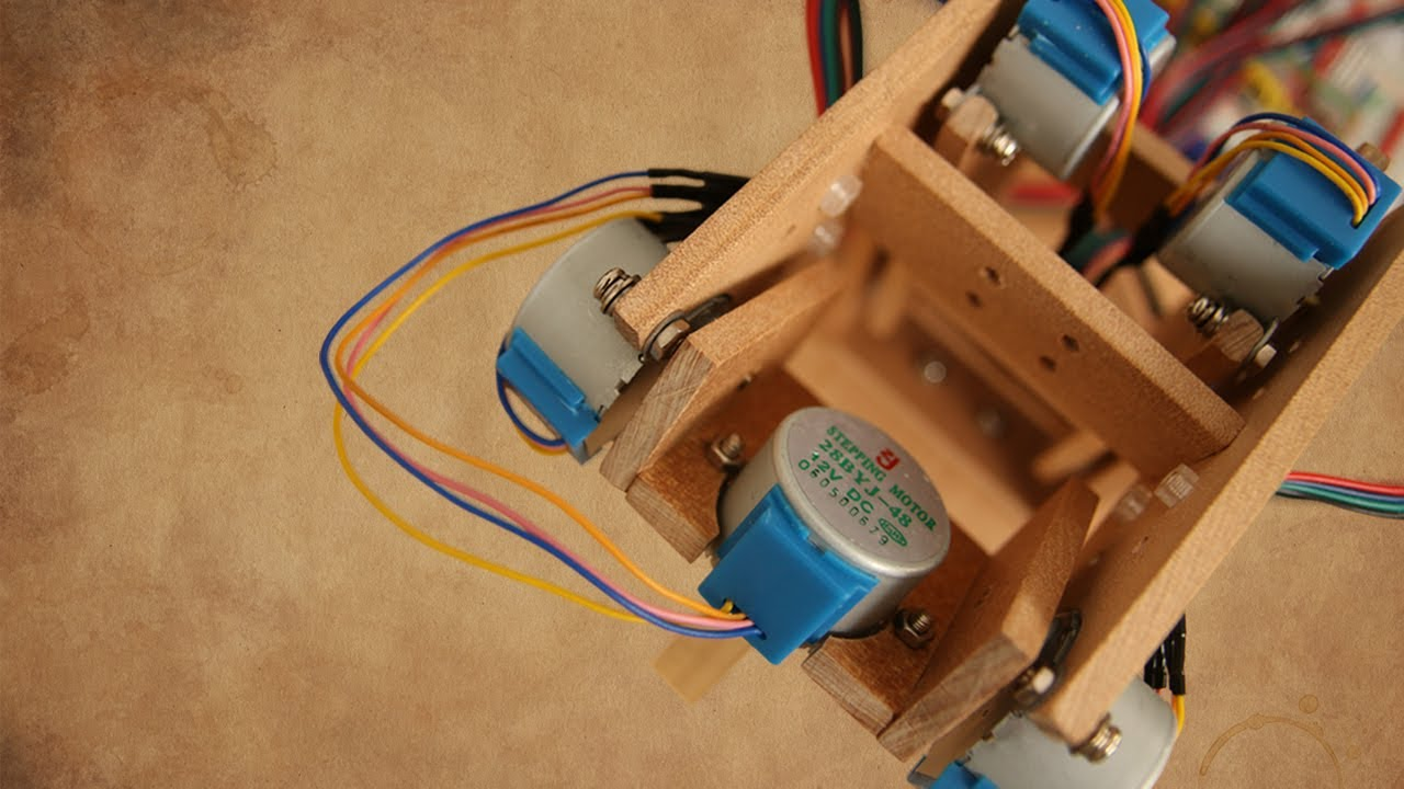 Smooth Moves From Cheap Motors | Hackaday