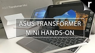 Asus Transformer Mini Hands-on Review: Cheap Surface alternative?