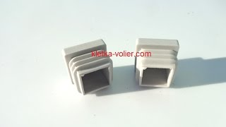 Заглушка для алюминиевого профиля 20 х 20 х 1,5 мм.