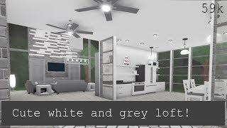 Loft gris et blanc mignon ROBLOX - France Bloksburg - France ❤ Camilo
