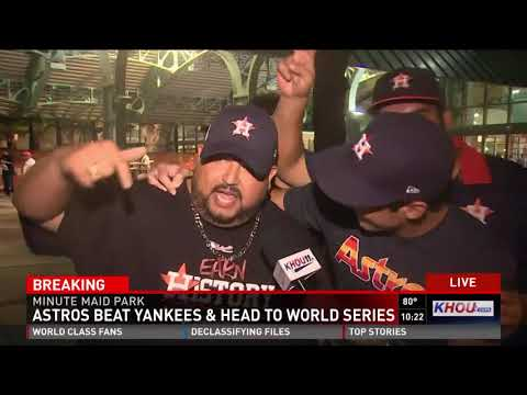 'It means everything': Fans ecstatic after Astros punch ticket to World Series