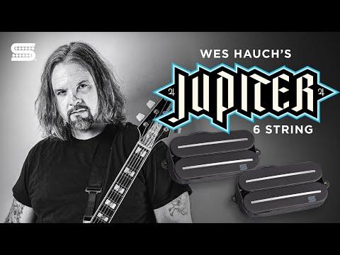 Wes Hauch on his Signature Jupiter 6-String Rails Humbucker Set   Seymour Duncan