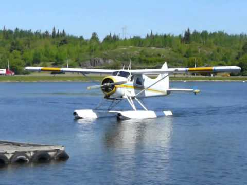 Kenora Air Service DHC-2 Beaver C-FJEI on a re-supply flight to Chase Lake Outpost