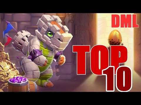 Top 10 Adult Dragons in Dragon Mania Legends! (Adult Designs)