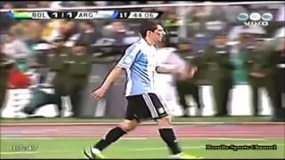 ARGENTINA VS BOLIVIA 2013, BOLIVIA 1 VS ARGENTINA 1 2014 WORLD CUP QUALIFICATION, GOALS BEST MOVES