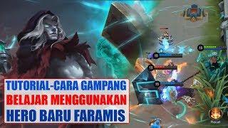 TUTORIAL Cara AMPUH Menggunakan FARAMIS - Cara Build, Battle Spell Hero Baru mobile legends
