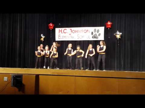 Girls Dance Routine at the Talent Show