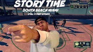 Story Time| GUN SHOTS in the TRAP HOUSE! Spring Break South Beach Miami (FULL 4 Part Story} -