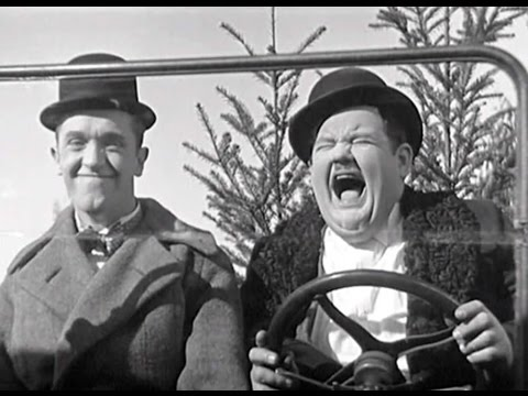 Laurel and Hardy's Model T's