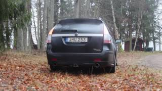 Video Saab 9-3 Aero 2.8T stock exhaust sound download MP3, 3GP, MP4, WEBM, AVI, FLV April 2018