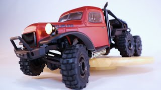 FMS ATLAS 6x6 RC Crawler | the FIRST EVER 1/18 Scale 6X6 Mini RC Car