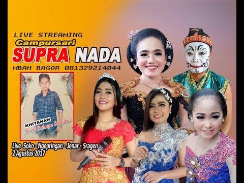 Live Streaming  Dian Pictures  SUPRA NADA LIVE SOKO//NGEPRINGAN//JENAR//SRAGEN JILID 2