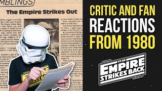Critic & Fan Reactions from 1980 - STAR WARS: THE EMPIRE STRIKES BACK -