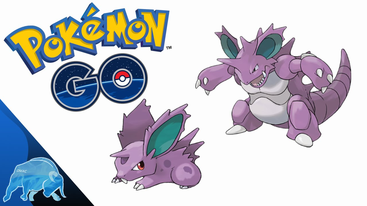 Pokémon GO Nidoran (Male) Evolution Nidorino/Nidoking 125 ...