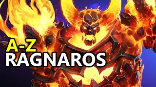 ♥ A - Z Ragnaros -  Heroes of the Storm (HotS Gameplay)