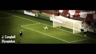 Top 10 best goals 2013--14 First leg UEFA Champions League knockout phase
