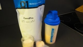 Myprotein CarniPro (Beef Protein) vs. Impact Whey Protein