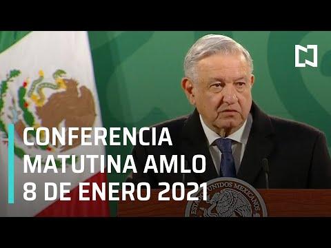 Conferencia matutina AMLO / 8 de enero 2021