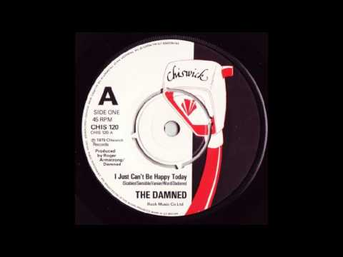 The Damned - I Just Can't Be Happy Today (DJ Edit)