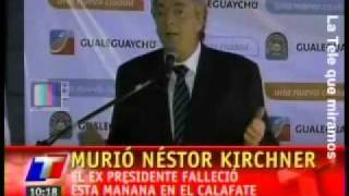 Murió Néstor Kirchner