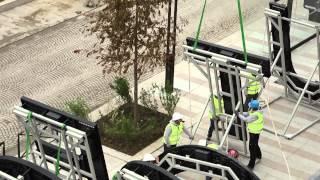 Héliportage d'Enseigne Lumineuse Vidéo pour le centre commercial So Ouest
