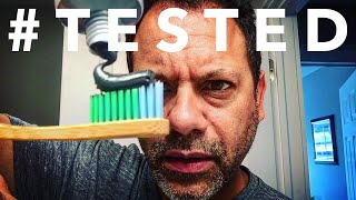 Dr. Sheffield's Activated Charcoal Toothpaste | an average guy's review