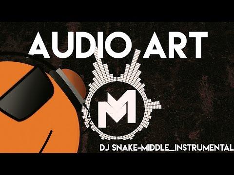 DJ Snake - Middle - Instrumental   mikemediallc