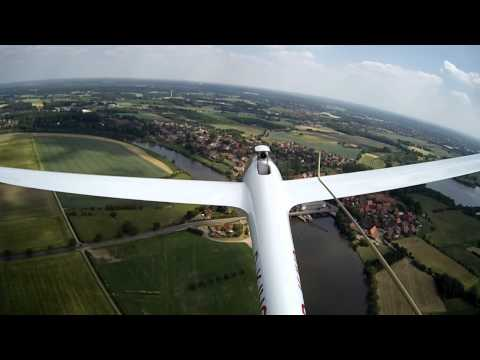DuoDiscus-J powered by 400N Jet engine | Hoya Weser Germany
