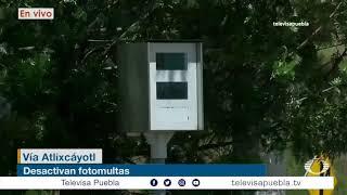 Desactivan las fotomultas en Puebla