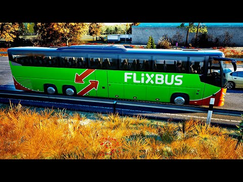 REAL LIFE Graphics ! ! ! Fernbus Simulator - VDL Futura FHD2 ! ! ! GAMEPLAY ! ! !