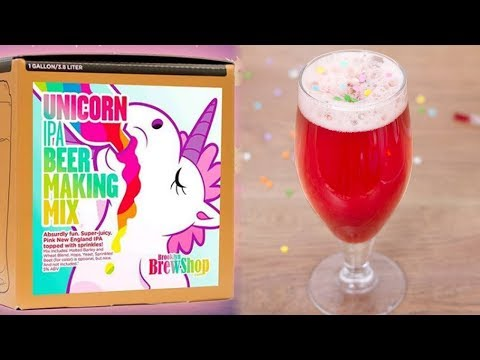 New Pink Unicorn Beer & Rosé Kits vs. How You Can Make Them!