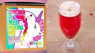 You Can Make Pink Unicorn Beer & Rosé With THESE New Kits