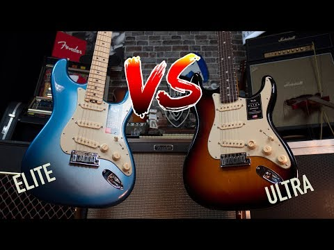Fender Ultra Vs Elite Stratocaster: What's The Difference?
