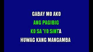 Rey Valera Gabay Mo Ako Filipino Karaoke