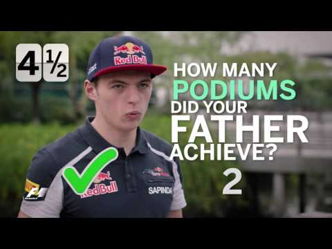 Grill the Grid - Max Verstappen