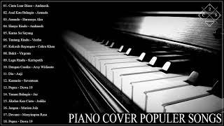 Download Cinta Luar Biasa,Hanya Rindu 🎹 Musik Cafe PIANO Instrumen