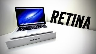 New 13 MacBook Pro Unboxing (13-inch with Retina Display) [2012 Unboxing]