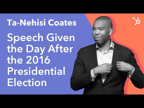 INBOUND 2016: Ta-Nehisi Coates Keynote (Speech given the day after the 2016 Presidential Election)