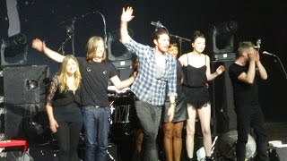 Hozier finale--Work Song--Live in Detroit Meadow Brook Music Festival 2015-07-29