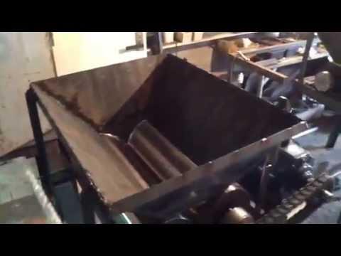 Механическая дробилка для стекла
