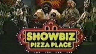 Showbiz Pizza Place 1980's Commercials