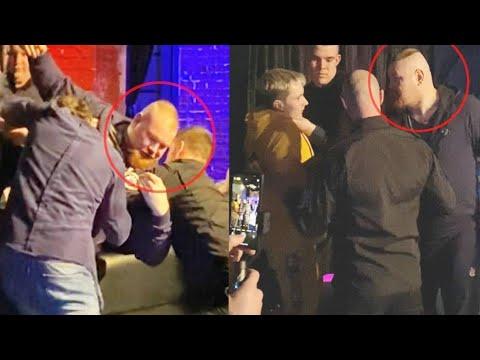 Дацик с Тарасовым устроили массовую драку. Забрали в полицию. Полное видео